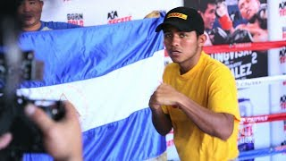 Roman Gonzalez and Sor Rungvisai Open Workout - UCN EXCLUSIVE