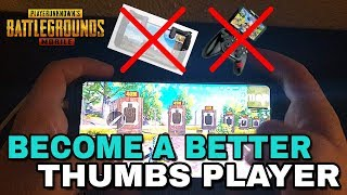 Become a BETTER THUMBS PLAYER | Tips & Tricks to MOVE, AIM, and SHOOT | PUBG Mobile