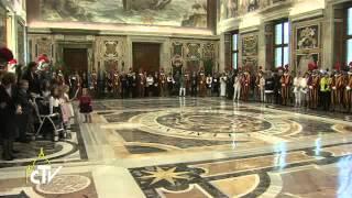 Papež Frančišek: Švicarski gardist sledi Jezusu in ljubi Cerkev
