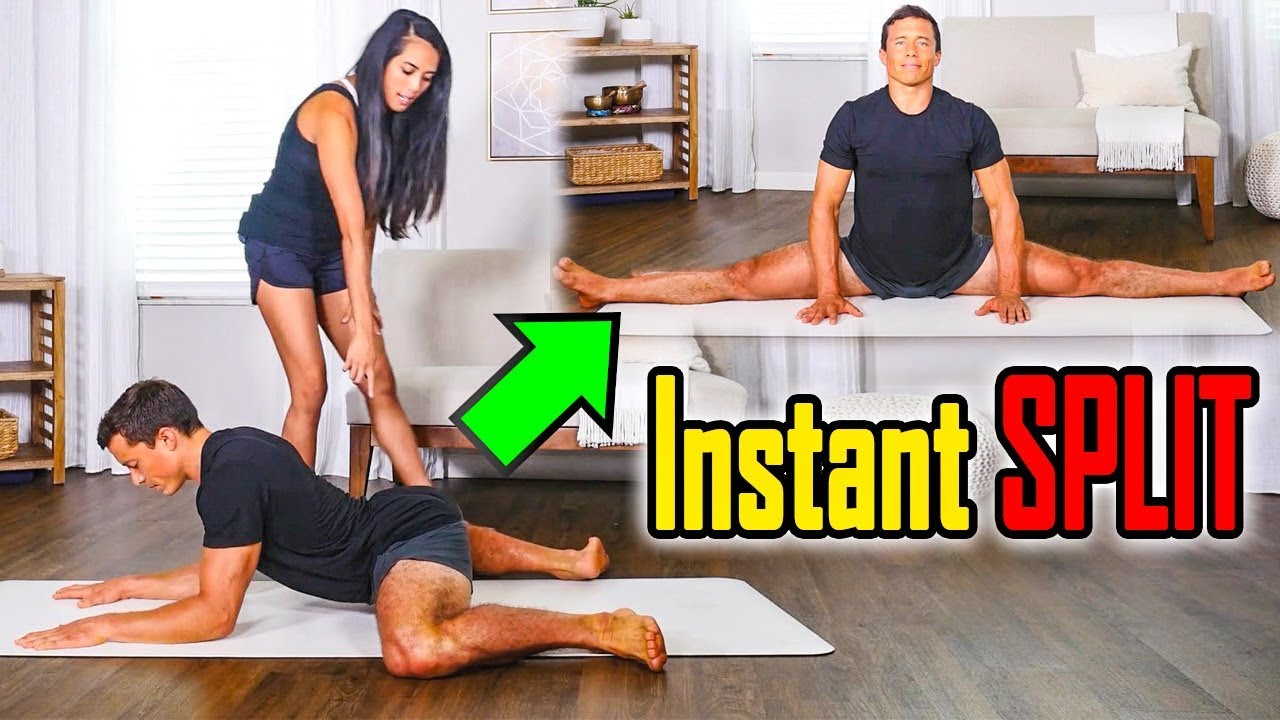 How to get Splits Instantly using YOGA Techniques | Yoga with MJ - Episode 02