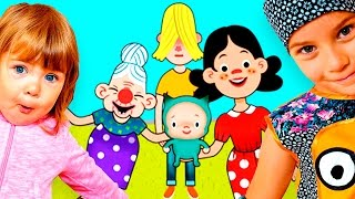 Смешное видео ДЛЯ ДЕТЕЙ Семейный мультик про семью Pepi House игра как мультик