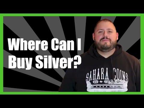 Where Can I Buy Silver? | Sahara Coins