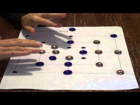 9 Men's Morris - How Play