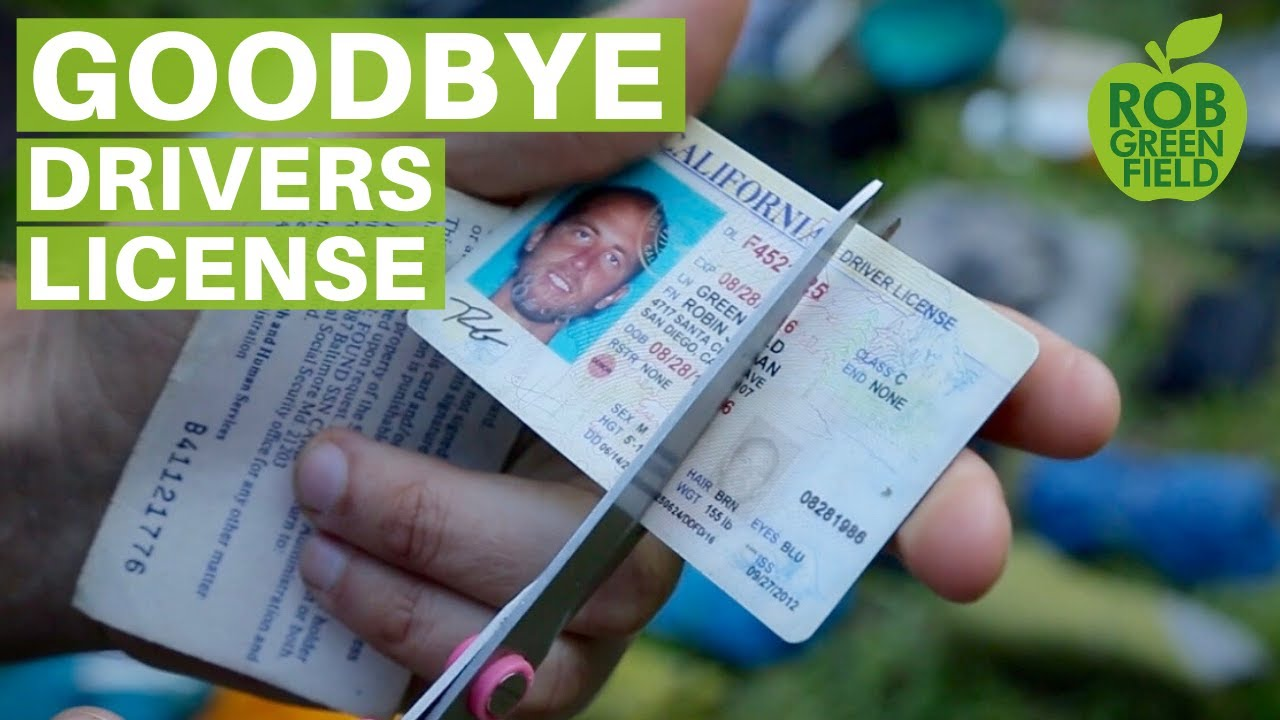 Social Security Account Drivers License Bank And Goodbye - Card Youtube