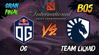 OG vs Team Liquid (Gran Final) ► El Evento Principal Internacional Dota2 2019 (TI9) 😎 | dota 2