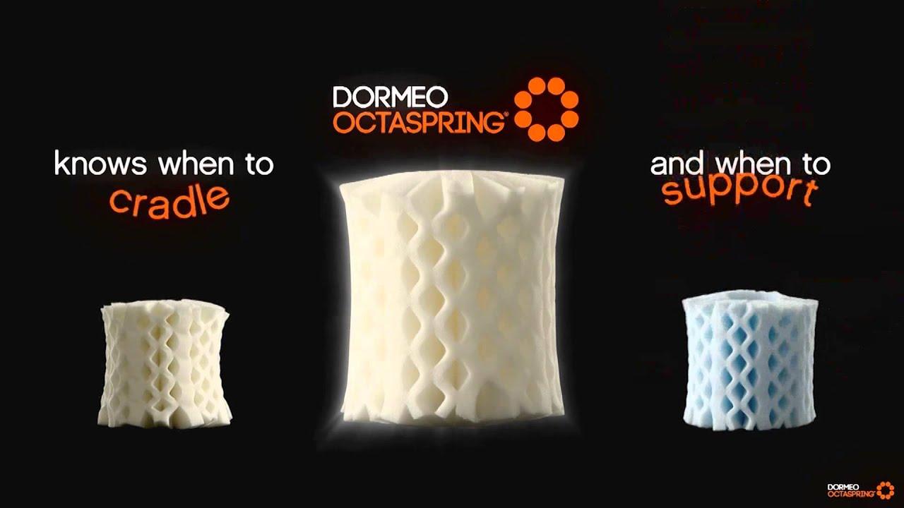Dormeo Octaspring S Unique Memory Foam Mattress Technology Explained You