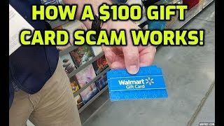 How A Free Gift Card Scam Works.. thumbnail