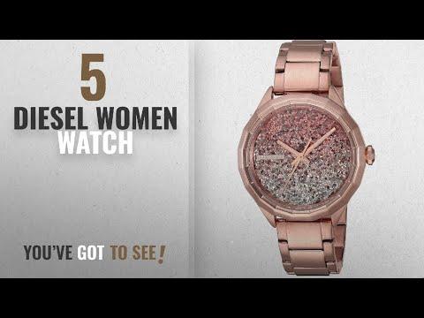 Top 10 Diesel Women Watch [2018]: Diesel Women's DZ5539 Kween B Rose Gold Watch