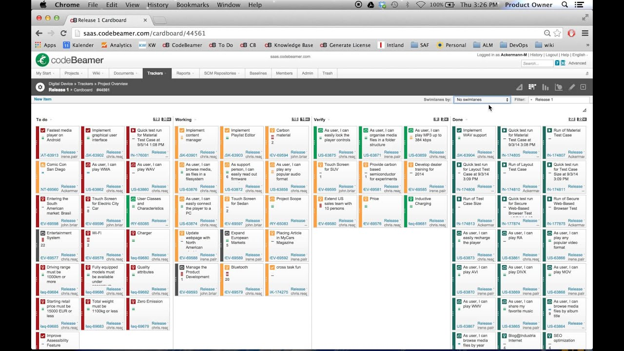Online Layout Tool Kanban Board For Lean Processes Youtube