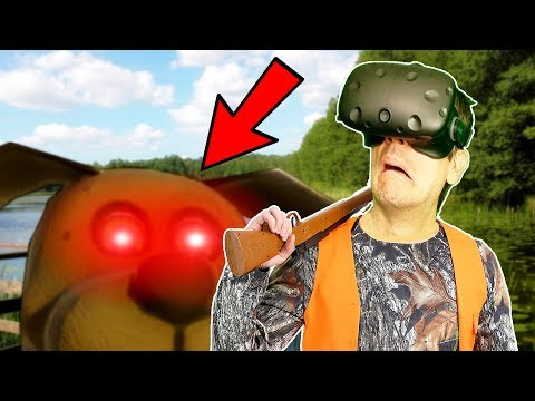 MY SUMMER INSANITY! IF FNAF AND DUCK HUNT WENT VR - Duck Season VR HTC VIVE Gameplay