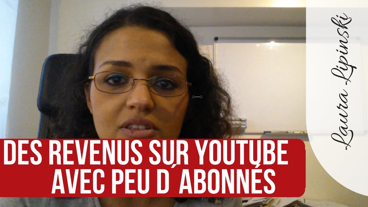 comment gagner sa vie sur youtube avec peu d abonn s youtube. Black Bedroom Furniture Sets. Home Design Ideas