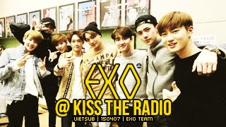 [Vietsub] 150407 EXO @ Sukira Kiss The Radio [EXO Team]