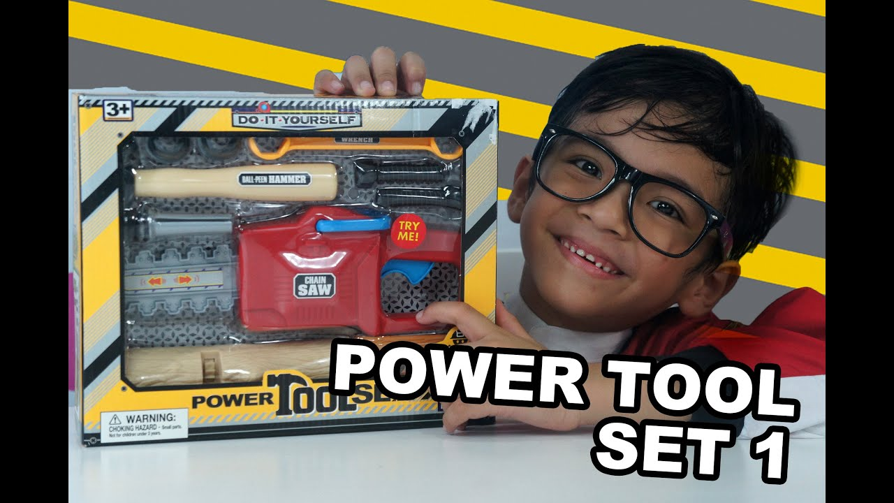 Do it yourself power tools toy set 1 toy review youtube do it yourself power tools toy set 1 toy review solutioingenieria Gallery