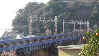 2/24 甲種輸送.東武鉄道70000系    早川〜根府川 間で撮影