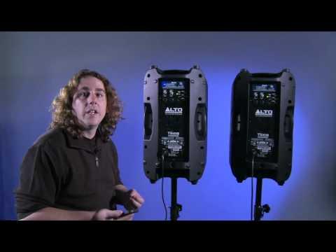 Alto Professional Truesonic Wireless Speakers W-lan Lautsprecher www.licht-produktiv.de