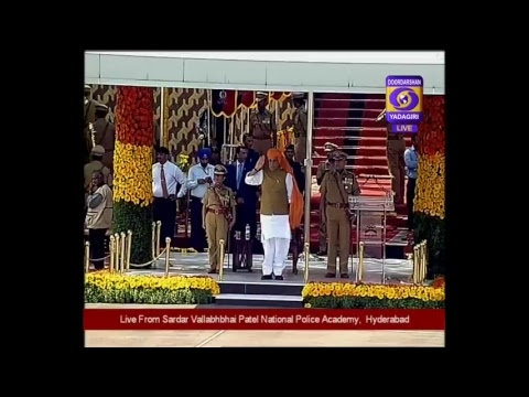69th IPS Batch Passing Out Parade at Sardar Vallabhbhai Patel National Police Academy Live,Hyderabad