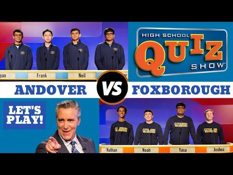 High School Quiz Show - Andover vs. Foxborough (907)