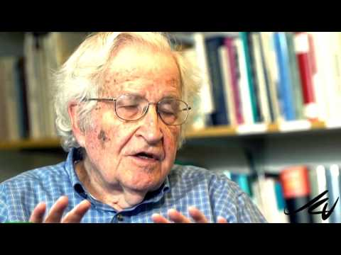 """Noam Chomsky Interviewed by Chris Hedges """"On Contact""""  MUST SEE - YouTube"""