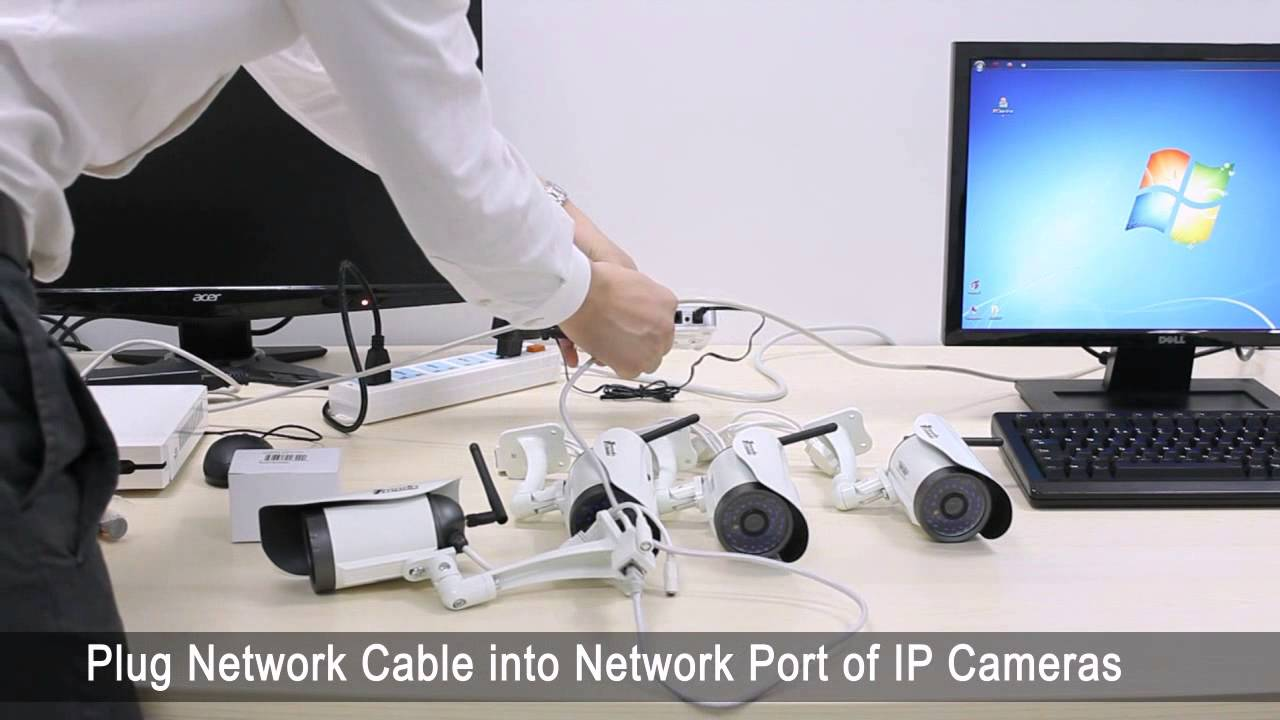 medium resolution of security camera installation tutorial from dhgate zmodo nvr hd wireless security cameras