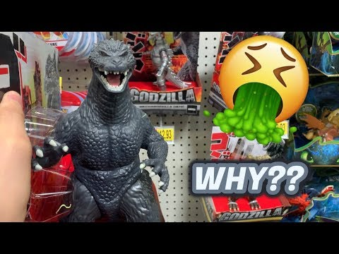 Playmates GODZILLA vs KONG Figures