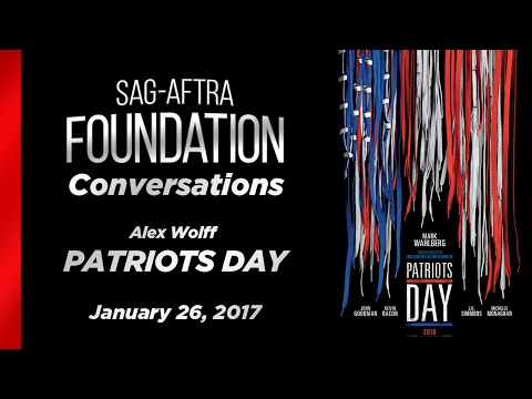 Conversations with Alex Wolff of PATRIOTS DAY