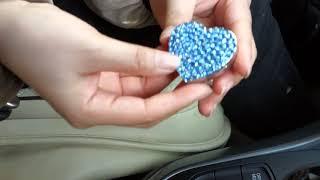 Zinc Aloy Heart Shape Car Air Freshener in China