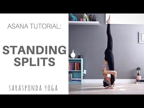 STANDING SPLITS TUTORIAL - Sarasponda Yoga