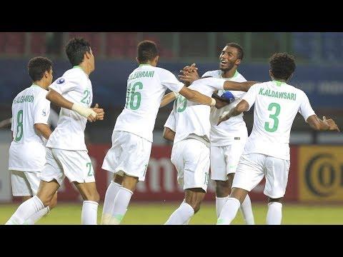 ملخص مباراة السعودية 3-1 طاجيكستان   كأس آسيا للشباب تحت 19 سنة 2018 الجولة الثالثة