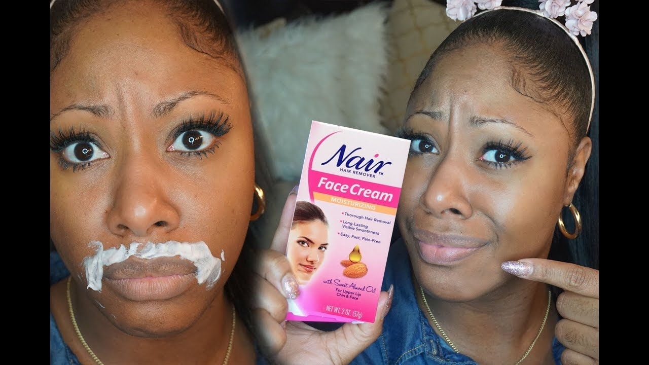 How I Remove Upper Lip Facial Hair At Home Fast Easy Youtube