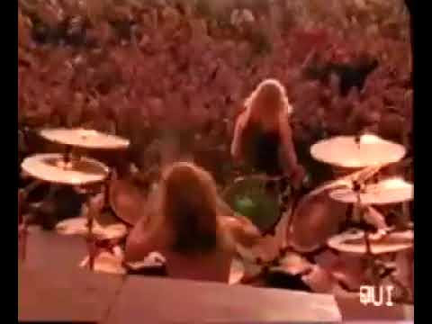 Metallica shreds Enter Sandman