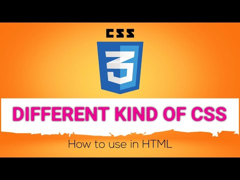 How To Use Inline CSS And Internal CSS In HTML With Examples | HTML Tutorial For Beginners In Hindi
