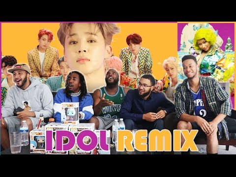 KINGS and QUEEN! BTS (방탄소년단) 'IDOL (Feat. Nicki Minaj)' Official MV REACTION/REVIEW