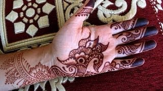 Arabian Henna Mehndi Design For Indian And Pakistani Occassions, Eid, Teej, Karwa Chauth, Engagement