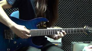 One OK Rock - The Beginning guitar 結他 Cover by Eric Lo 【TAB譜あり】