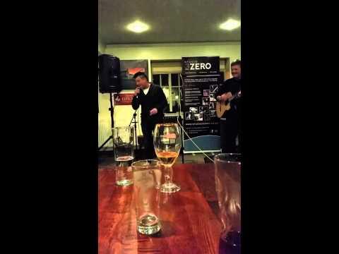 Emzie sings with John Hough