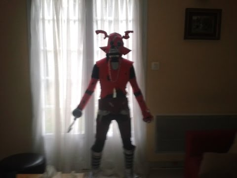 Nightmare Foxy Cosplay Finish Youtube