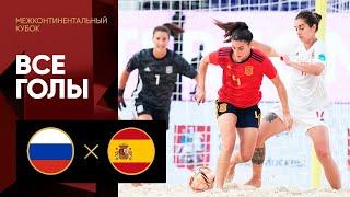 14 08 2021 Россия Испания Все голы матча Межконтинентального кубка