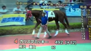 2014/7/5中京1R サラ系障害3歳以上 3000m 芝(混合) 未勝利