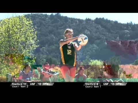 USF vs. Stanford Beach Volleyball