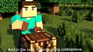 """The unknown"" Minecraft parody ""dark horse"" by Katy Perry"