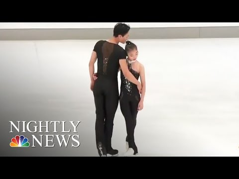North Korean Figure Skaters Qualify For Olympics In South Korea   NBC Nightly News