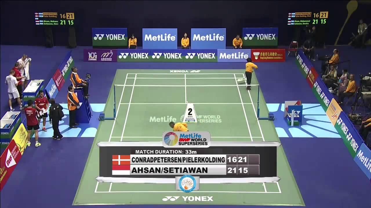 SF - 2014 Hong Kong Open - Mohammad Ahsan-Hendra Setiawan ... Badmintonplanet