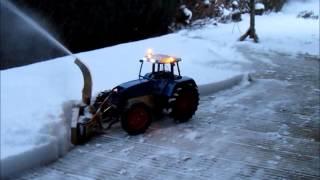 Schneeschleuder 1  Test Video