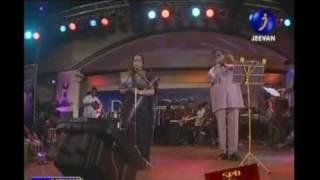 "S P Balasubramaniam & SP Shailaja ""Malare Mounama"""