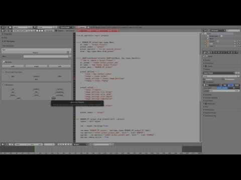 Blender : Python Addon : Development Workflow