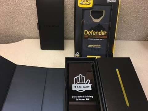 Samsung Galaxy Note 9 & OtterBox Defender case picked up!