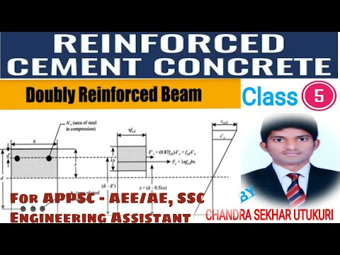 Reinforced Concrete Structures Class-5 || Doubly Reinforced Beams Best Explanation by CS Academy