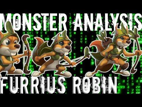 Monster Legends | Monster Analysis | Furrius Robinhood | Mercenary Island | Progressive Island