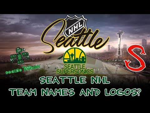 Potential NHL Seattle team names and logos!