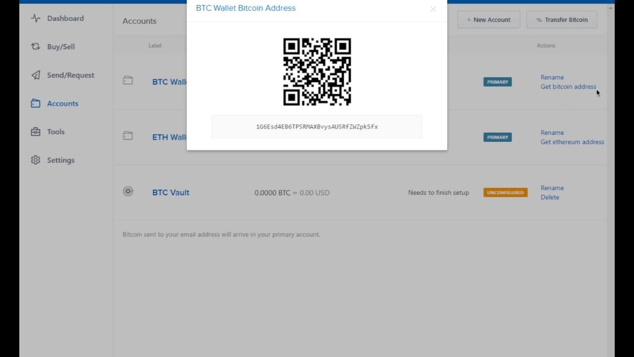 is coinbase a bitcoin wallet